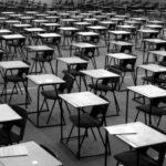 GCSE, grading , exam hall