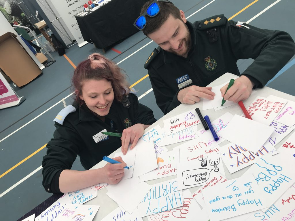 NHS 70 youth celebrations